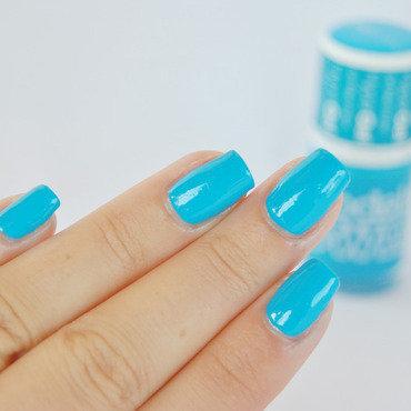 Models Own Blue Glint Swatch by Patricija Zokalj