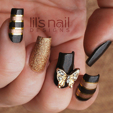 A Sunny Autumn Day nail art by Lily-Jane Verezen