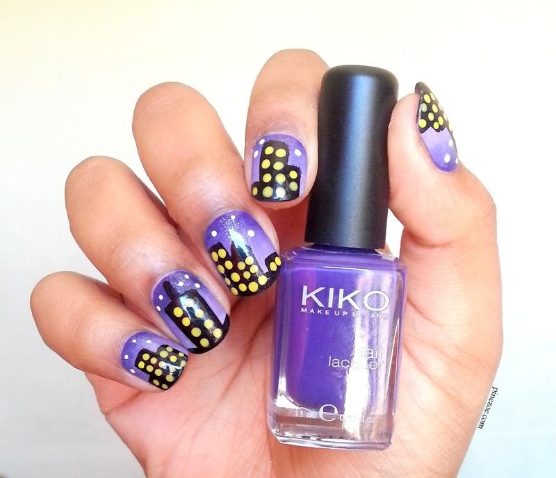 Urban nails nail art by Pinezoe
