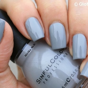 Sinful Colors Cool Gray Swatch by Giovanna - GioNails