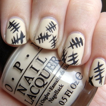 The Silence nail art by Elin The Cupcake Cat