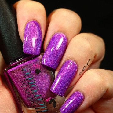 Colors By Llarowe My Own Private Paradise Swatch by Karolyn