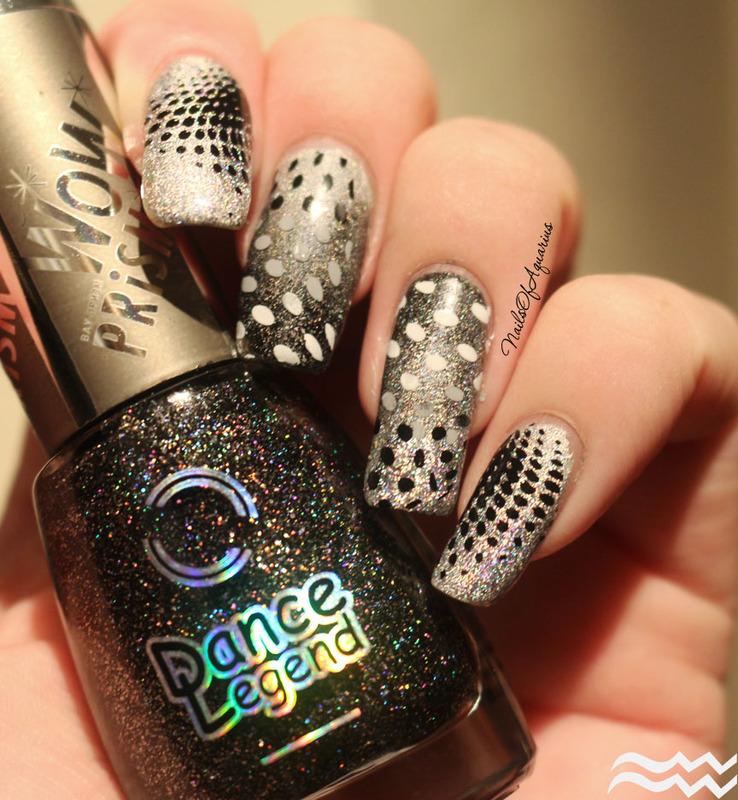 Twilight Zone nail art by Karolyn