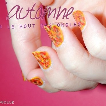 Fall Harmony nail art by Nibsouille