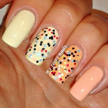 Trio from MySecret nail art by Ewa