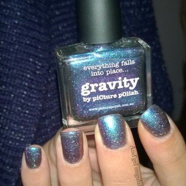 "piCture pOlish ""Gravity""  by And'gel ongulaire"