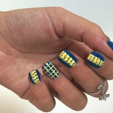 Inspiration Leitmotiv nail art by And'gel ongulaire