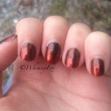 Changing of the Colors nail art by WhimseyFox