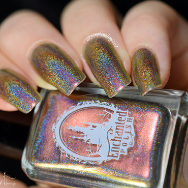 Enchanted Polish Congratulations Swatch by simplynailogical