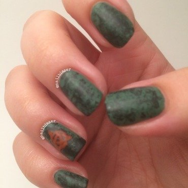 #31DC2014 Day 29 - Inspired by the Supernatural nail art by Nailblazer