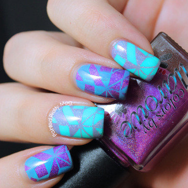 Colors by llarowe my own private paradise moyou london nail stamping 3 thumb370f