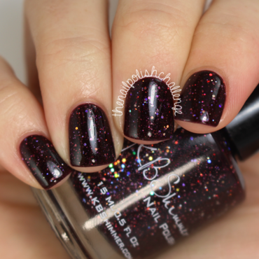 KBShimmer A Raisin to Live Swatch by Kelli Dobrin