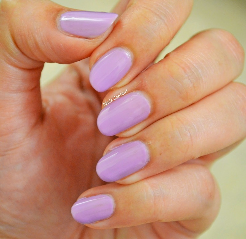 Rommel London Sweet Lavender Swatch by NailsContext