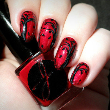Dark but Beautiful? nail art by Kim