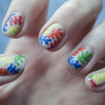 Henri Matisse - The Sheaf nail art by Jule