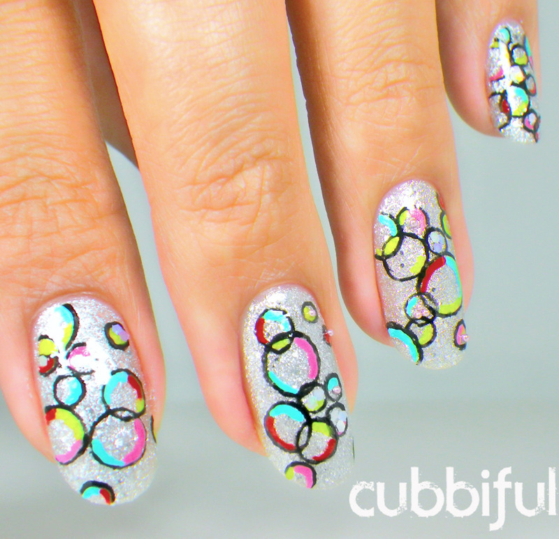 31DC2014 - Honor Nails You Love  nail art by Cubbiful