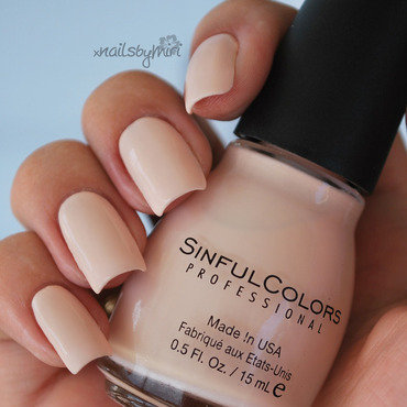 Sinful Colors Easy Going Swatch by xNailsByMiri