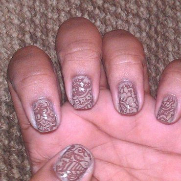 Henna nail art by Toni Nailed It