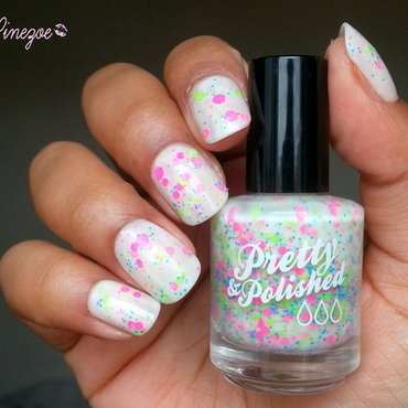 Pretty & Polished Popples Swatch by Pinezoe