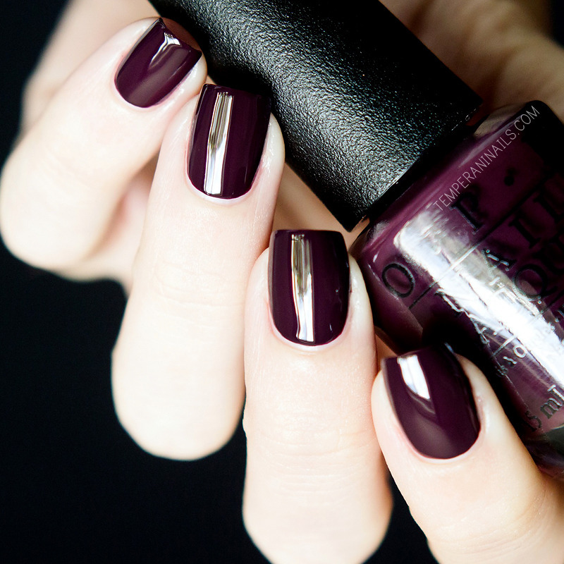 OPI Sleigh Parking Only Swatch by Temperani Nails