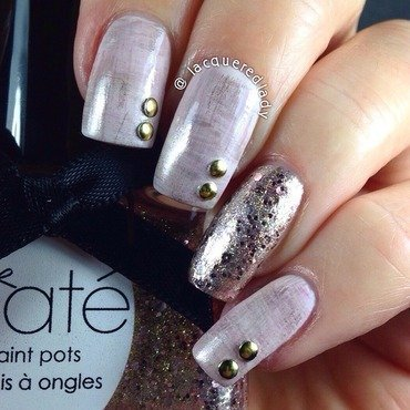 Fall Dry Brush Nail Art nail art by LacqueredLady