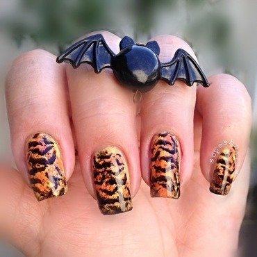 Bats (Bundle Monster Nail Art Challenge) nail art by Debbie