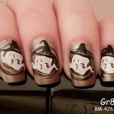 Bootiful Halloween nails nail art by Gr8Nails