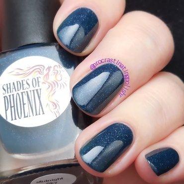 Shades of Phoenix Midnight Sky Swatch by Jae Harrison