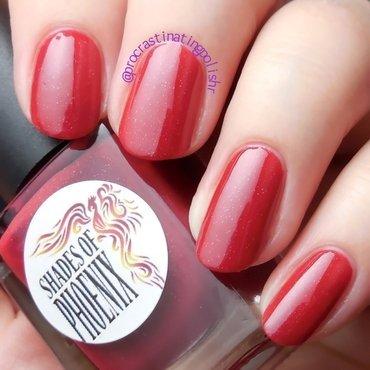 Shades of Phoenix Moulin Rouge Swatch by Jae Harrison