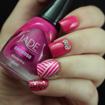 Stripes for the #31DC2 nail art by Mare