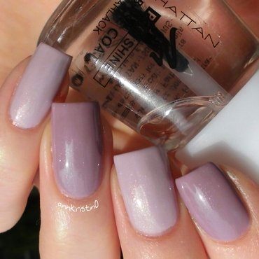 Orly Flawless Flush and P2 Sweet Nanny Swatch by Ann-Kristin