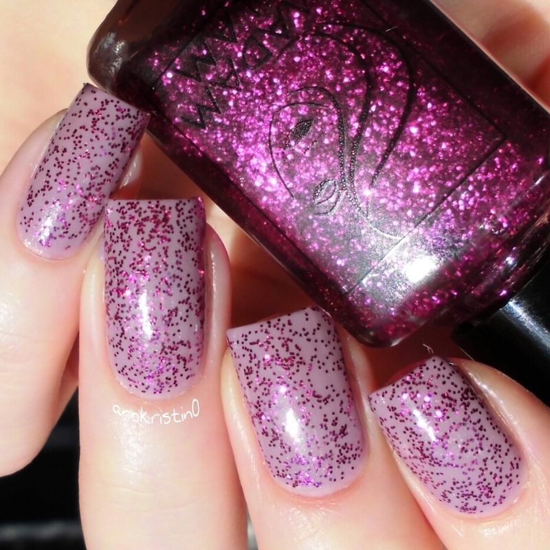 P2 Sweet Nanny and Madam Glam Party Animal Swatch by Ann-Kristin