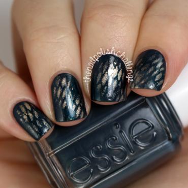 Fall Snake Skin Nail Art nail art by Kelli Dobrin
