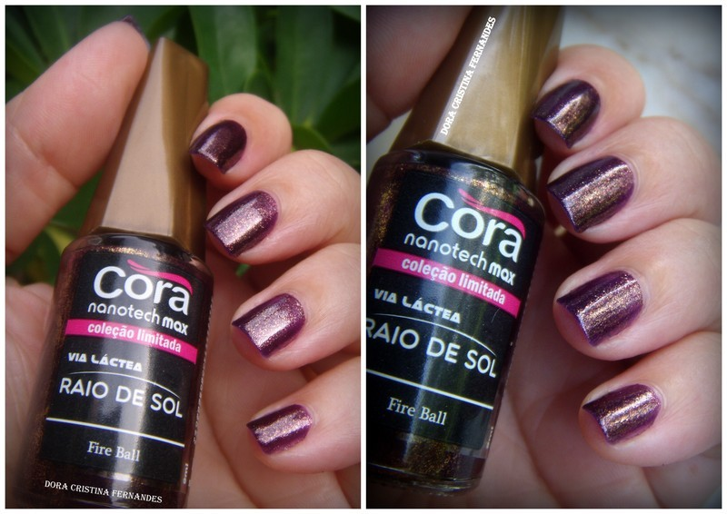 Cora Fire Ball ( Raio de Sol Collection) Swatch by Dora Cristina Fernandes