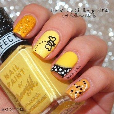 Yellow Nails nail art by Suzi - Beauty by Suzi