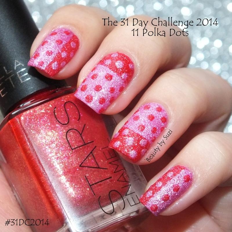 Polka Dots nail art by Suzi - Beauty by Suzi