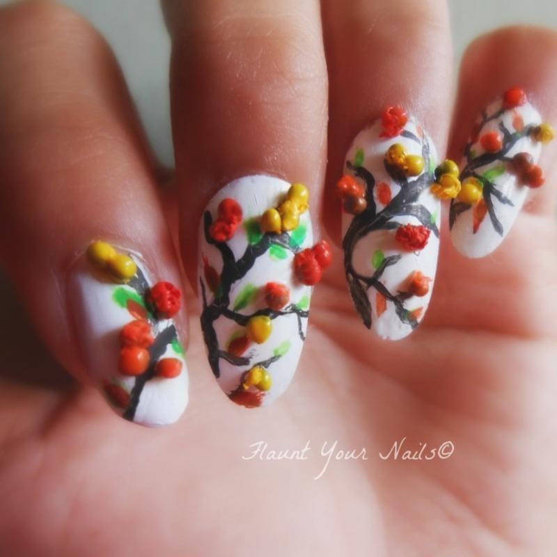 3d fall and thanksgiving nail art nail art by vidula kulkarni 3d fall and thanksgiving nail art prinsesfo Choice Image