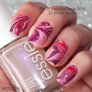 Water Marble nail art by Suzi - Beauty by Suzi