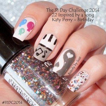 Inspired by a song nail art by Suzi - Beauty by Suzi