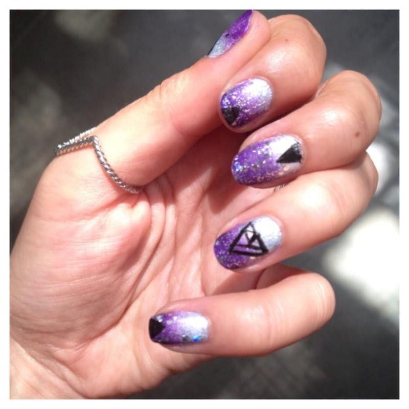 NAILSTORMING #68 – GÉOMÉTRIE nail art by Dju Nails