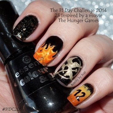 Inspired by a movie nail art by Suzi - Beauty by Suzi