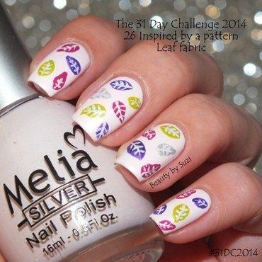 Inspired by a pattern nail art by Suzi - Beauty by Suzi