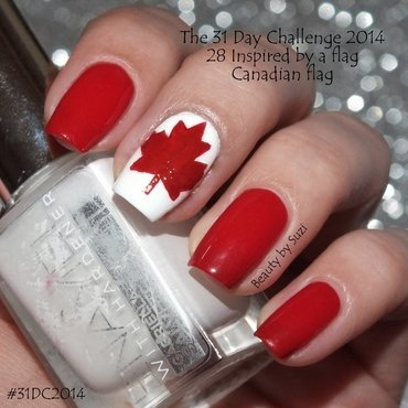 Inspired by a flag nail art by Suzi - Beauty by Suzi