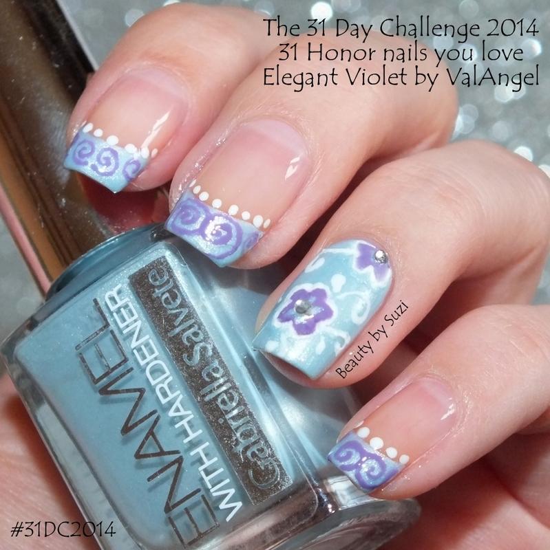 Honor Nails You Love nail art by Suzi - Beauty by Suzi