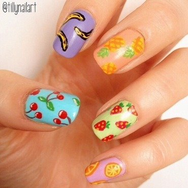 Fruit Nails nail art by Tilly  Hawkins