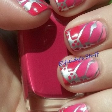 Stamping Sunday 10-05-2014 nail art by Jenette Maitland-Tomblin