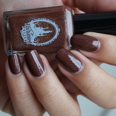 Enchanted Polish Hot chocolate for unicorns Swatch by Sweapee