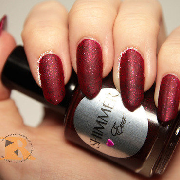 Shimmer Polish Eva Swatch by Robin
