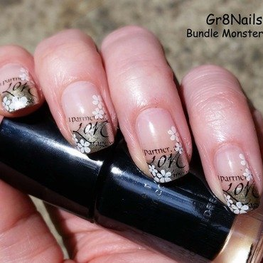 French Manicure nail art by Gr8Nails