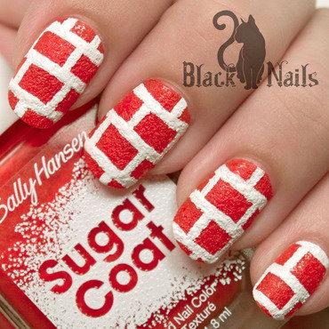 Textured polish sally hansen sugar coat brick wall bottle ig thumb370f